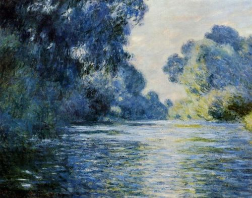 Arm of the Seine at Giverny, 1897 by Claude Monet