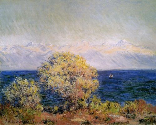 At Cap d'Antibes, Mistral Wind, 1888 by Claude Monet
