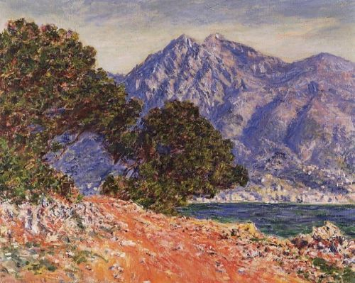 Cap Martin, 1884 by Claude Monet