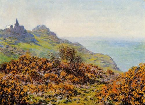 Church at Varengeville and the Gorge of Les Moutiers, 1882 by Claude Monet