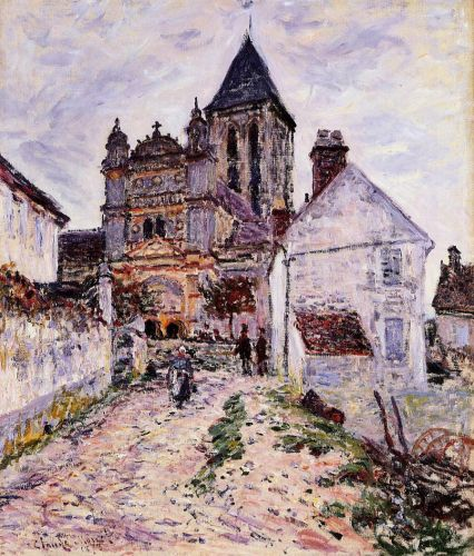 Church at Vetheuil, 1878 by Claude Monet