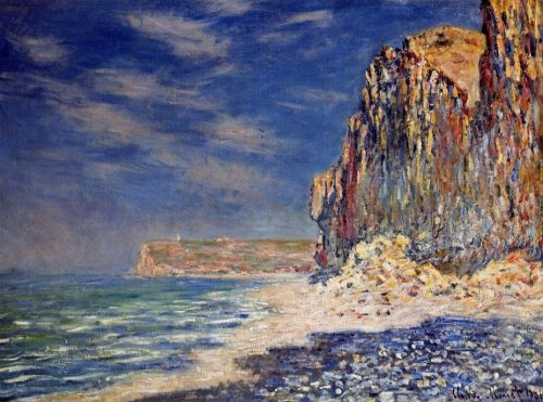 Cliff near Fecamp, 1881 by Claude Monet