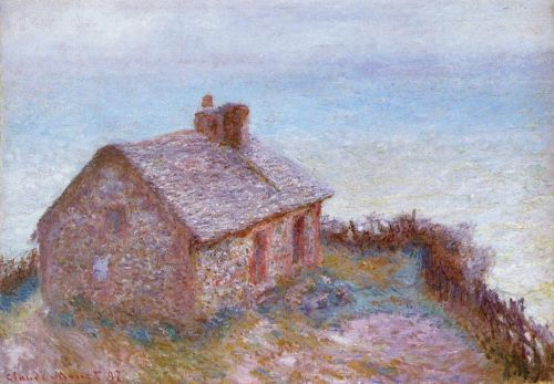 Customs House at Varengeville, 1897 by Claude Monet