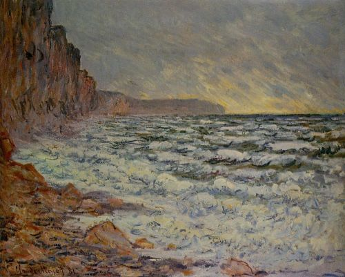 Fecamp, by the Sea, 1881 by Claude Monet