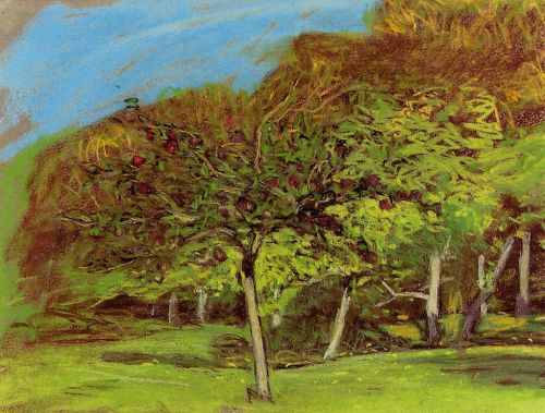 Fruit Trees by Claude Monet