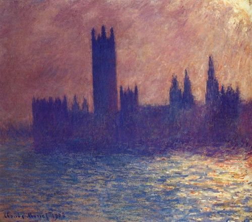 Houses of Parliament, Sunlight Effect, 1903 by Claude Monet