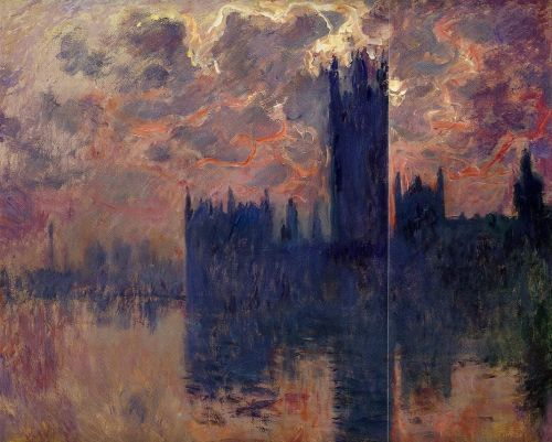 Houses of Parliament, Sunset, 1900 by Claude Monet