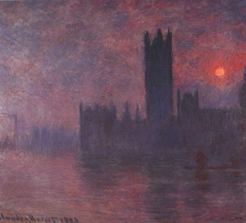 Houses of Parliament, 1900 by Claude Monet
