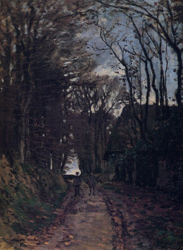 Lane in Normandy, 1868 by Claude Monet