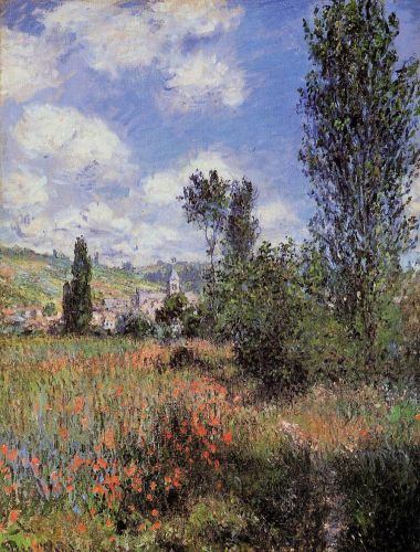 Lane in the Poppy Fields, Ile Saint-Martin, 1880 by Claude Monet