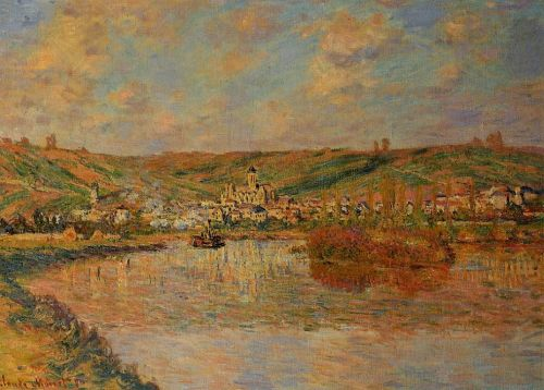 Late Afternoon in Vetheuil, 1880 by Claude Monet