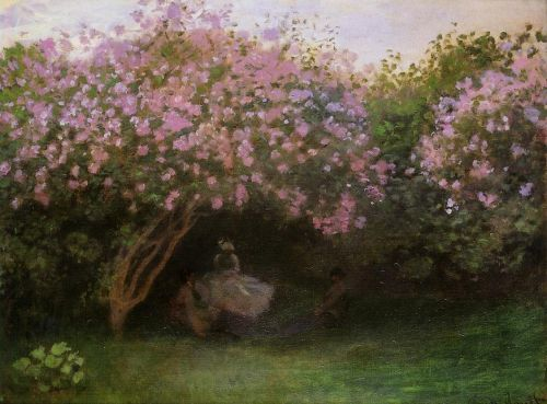 Lilacs, Grey Weather, 1872 by Claude Monet