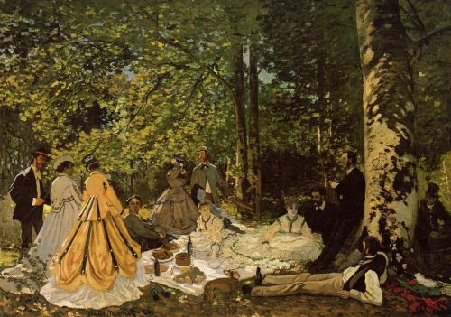 Luncheon on the Grass, 1865 by Claude Monet