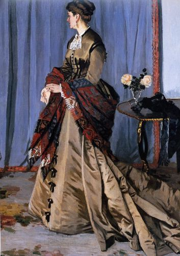 Madame Gaudibert, 1868 by Claude Monet