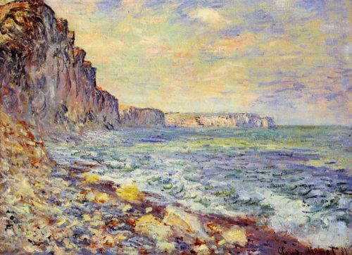 Morning by the Sea, 1881 by Claude Monet