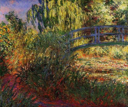 Path along the Water-Lily Pond, 1900 by Claude Monet