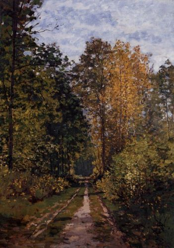 Path in the Forest, 1865 by Claude Monet