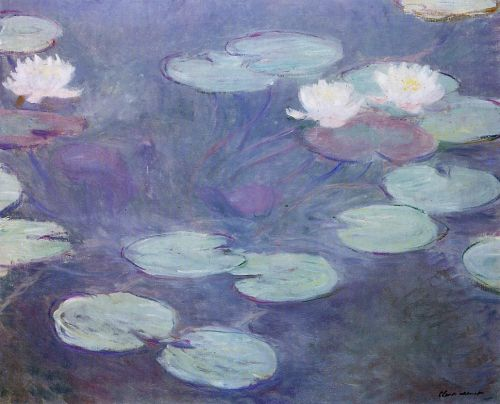 Pink Water-Lilies, 1897-1899 by Claude Monet