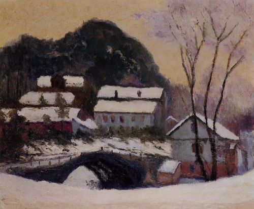 Sandviken, Norway, 1895 by Claude Monet