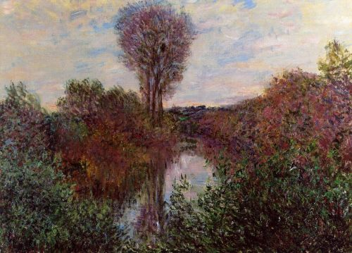 Small Arm of the Seine at Mosseaux, 1878 by Claude Monet