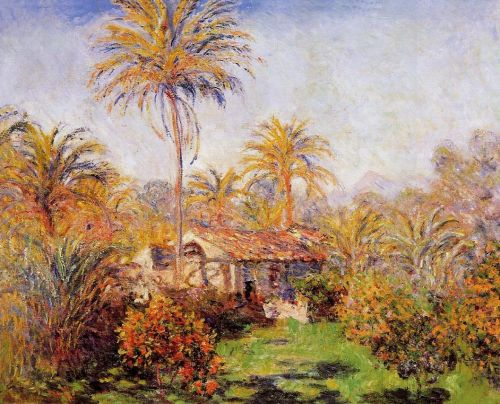 Small Country Farm in Bordighera, 1884 by Claude Monet