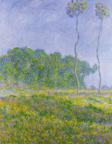 Spring Landscape, 1894 by Claude Monet