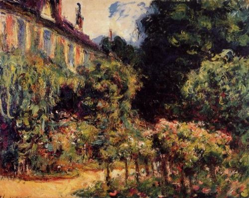The Artist's House at Giverny, 1913 by Claude Monet