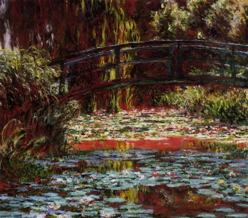 The Bridge over the Water-Lily Pond, 1900 by Claude Monet