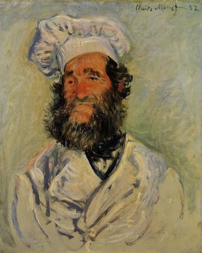 The Chef, Pere Paul, 1882 by Claude Monet