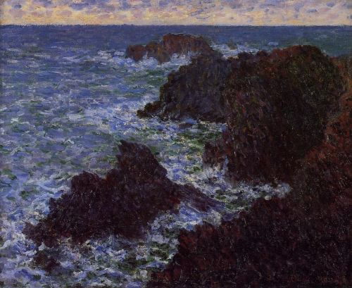 The Cote Sauvate, 1896 by Claude Monet