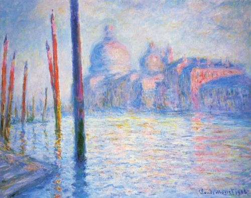 The Grand Canal, 1908 by Claude Monet