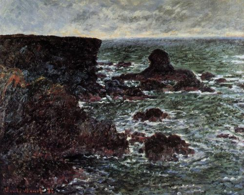 The Lion Rock, Belle-Ile, 1886 by Claude Monet