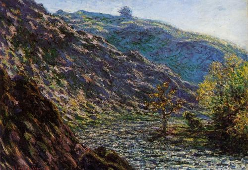 The Old Tree at the Confluence, 1889 by Claude Monet