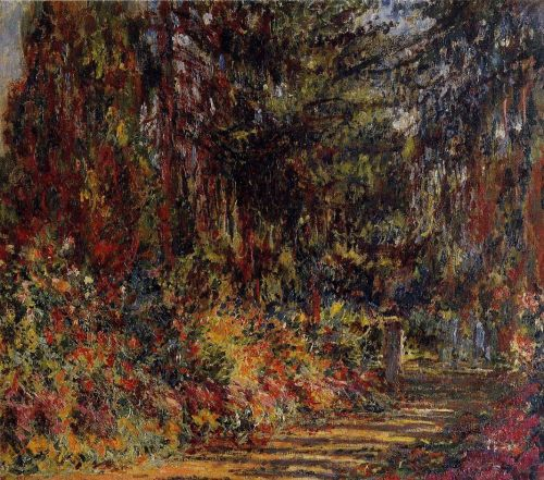 The Path at Giverny, 1902-1903 by Claude Monet