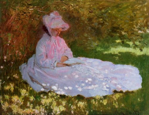 The Reader, 1872 by Claude Monet