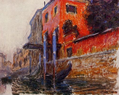 The Red House, 1908 by Claude Monet