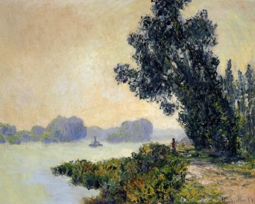 The Towpath at Granval, 1883 by Claude Monet