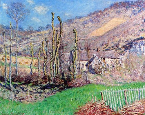 The Val de Falaise, Giverny, 1885 by Claude Monet
