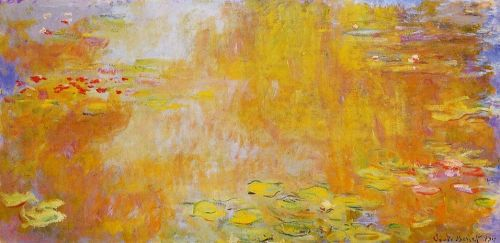 The Water-Lily Pond, 1919 by Claude Monet