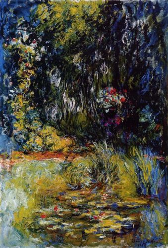 The Water-Lily Pond, 1918 by Claude Monet