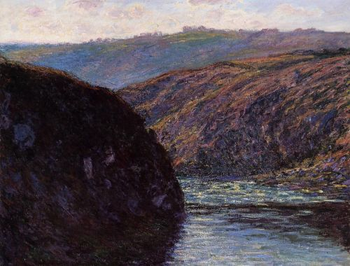 Valley of the Creuse, Afternoon Sunlight, 1889 by Claude Monet