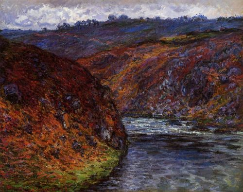 Valley of the Creuse, Grey Day, 1889 by Claude Monet