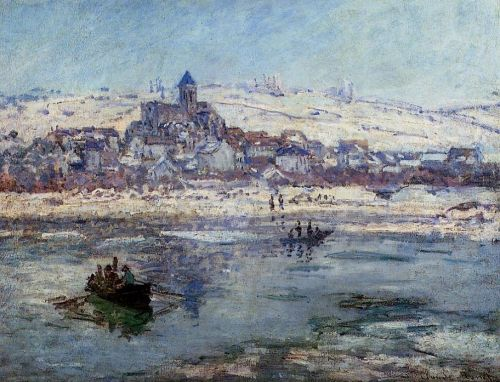 Vetheuil in Winter, 1878-1879 by Claude Monet