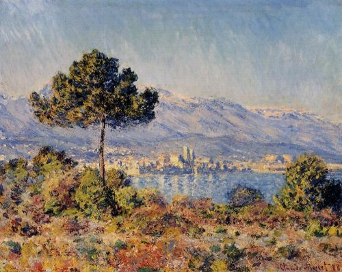 View of Antibes from the Notre-Dame, 1888 by Claude Monet