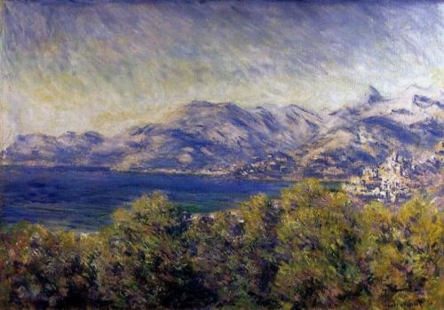 View of Ventimiglia, 1884 by Claude Monet