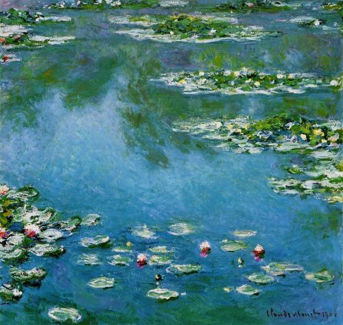 Water-Lilies, 1906 by Claude Monet