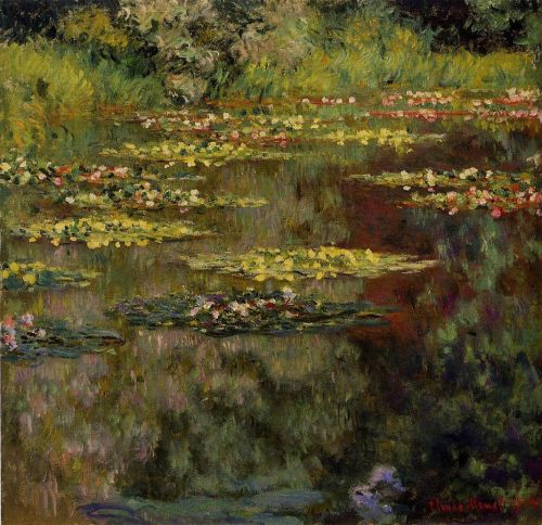 Water-Lilies, 1904 by Claude Monet