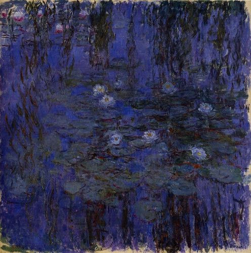 Water-Lilies, 1916-1919 by Claude Monet