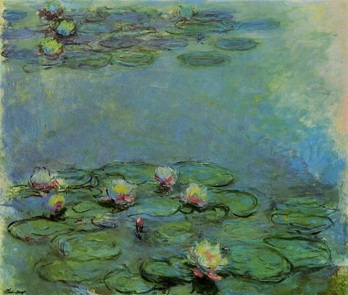 Water-Lilies, 1917 by Claude Monet