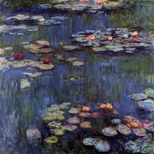 Water-Lilies, 1916 by Claude Monet